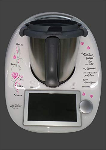Grafix - Adhesivo decorativo para Thermomix TM 6: Amazon.es: Hogar
