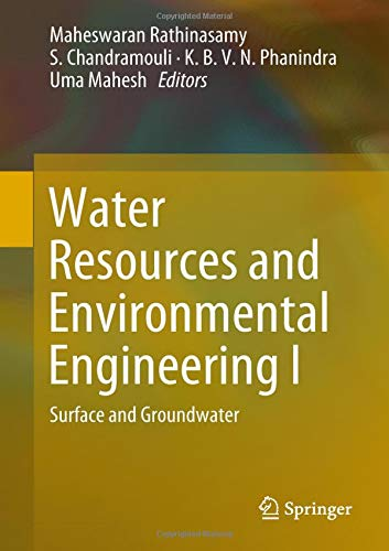 Water Resources and Environmental Engineering I: Surface and Groundwater-cover