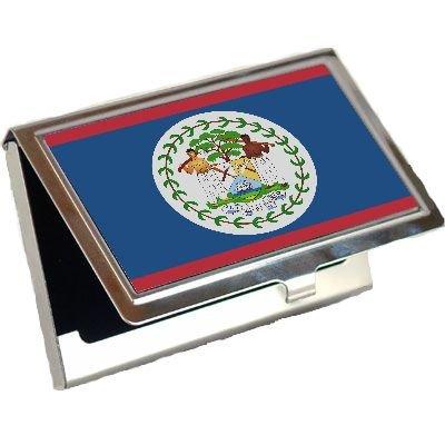 (Belize Flag Business Card)