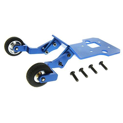 GPM Racing Alloy Wheelie Bar Set for 1:8 HPI Savage Flux, Blue