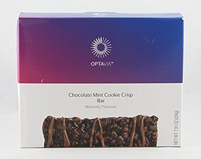 Optavia Chocolate Mint Cookie Crisp Bar - 7 Servings