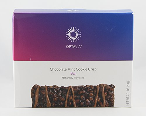 Optavia Chocolate Mint Cookie Crisp Bar - 7 Servings by Optavia