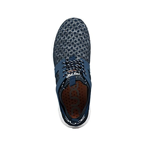 Mistral Shoes Dude Airflow Melange Women's Navy Hey Trainer Ladies Blue RpRqw