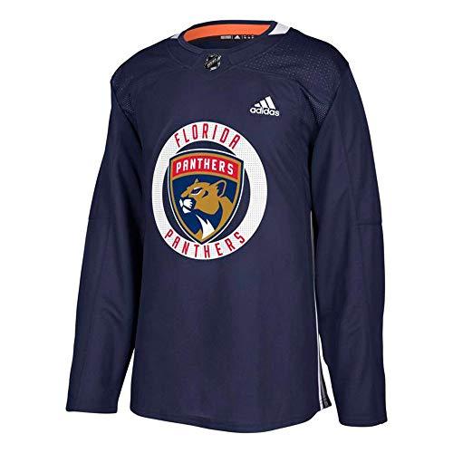 adidas Florida Panthers NHL Men's Navy Blue Authentic Practice Team Jersey - Florida Panthers Jersey