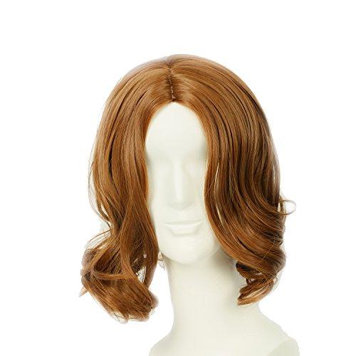 Tarzan Wig Hair Brown Wavy Wig Tarzan Cosplay Costume Accessories XCOSER ()