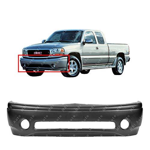 gmc sierra front bumper cover - 7