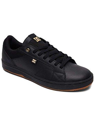 Top DC Low Astor Black Men's Gold Sneakers wF4qHT7txq