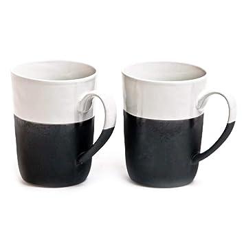 Amazon.de: Broste Copenhagen Esrum 2 Tassen Set - Henkeltasse 300 ml ...