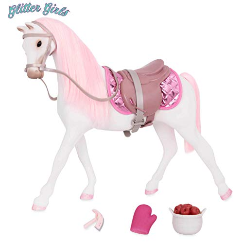 Glitter Girls by Battat - 14-inch Norwegian Horse Shimmers - Toys, Accessories, and Pets for Dolls - Ages 3 and Up