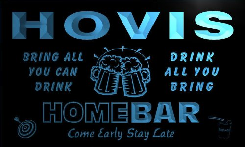 q20992-b-hovis-family-name-home-bar-beer-mug-cheers-neon-light-sign