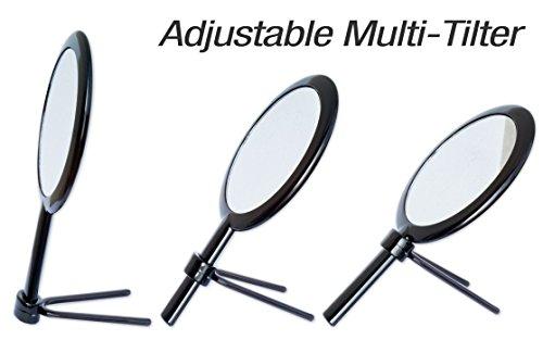 Modern Mirror Handheld Travel Vanity Makeup Mirror With Adju