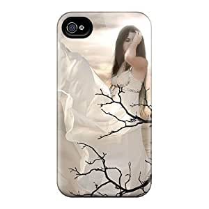 Durable Protector Case Cover With Woman Of The Wolves Hot Design For iphone 6 4.7