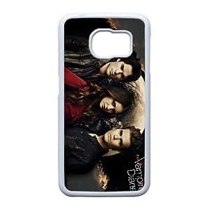 Samsung Galaxy S6 Edge Cell Phone Case White The Vampire Diaries F5101293