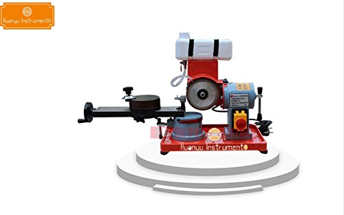 550W Woodworking saw blade gear grinding machine Sharpener grinder Mill grinding machine with water tank (220V) by Huanyu Instrument