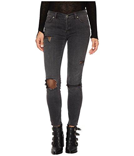 - Free People Women's Fishnet Skinny In Black Black 29 26.5