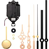 Hicarer Quartz Pendulum Clock Movement DIY Movement Kits with 2 Pairs Hands and Pendulum