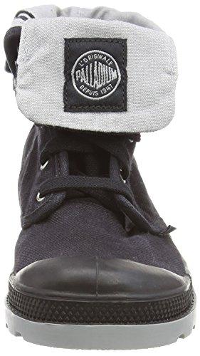 Palladium Unisex-Kinder Baggy Zipper Ii Kurzschaft Stiefel Grey (Black)