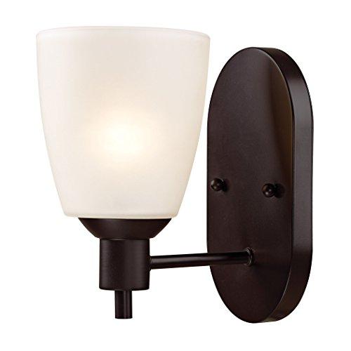 1 Thomas Lighting Flush Mount - Thomas Lighting Jackson 1 Light Sconce, Oil Rubbed Bronze