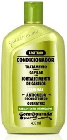 Gota Dourada Queratrix - Acondicionador Anticaída - 430 ml
