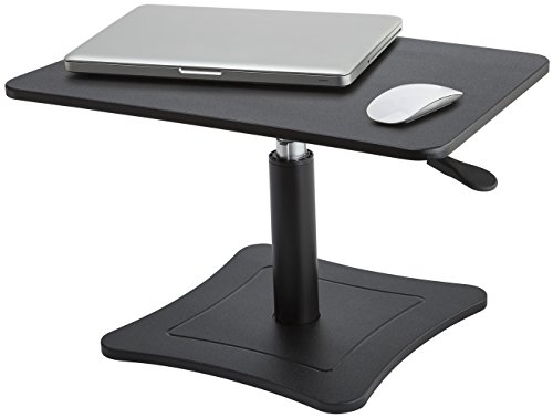 Victor DC230B High Rise Height Adjustable Stand (Adjustable Height Laptop Stand Steel)
