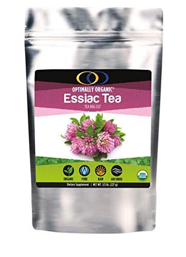 Organic Essiac Tea, Powerful Herbal Blend, Tea Bag Cut, All Natural, 1/2 lbs (Best Herbal Tea For Cancer)