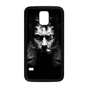 Durable Hard cover Customized TPU case Dark Wolverine Samsung Galaxy S5 Cell Phone Case Black