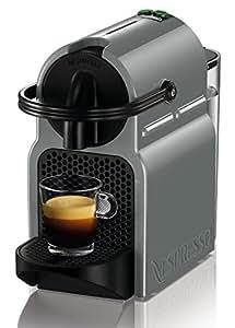DeLonghi Inissia EN 80.GY - Cafetera (Independiente, Negro, Gris, Espresso machine, Cápsulas, Café, Café expreso, Lungo, 0,8L)