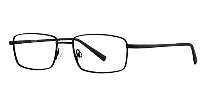 32497588f6 Amazon.com  FLEXON Eyeglasses BENEDICT 600 001 Matte Black 53MM ...