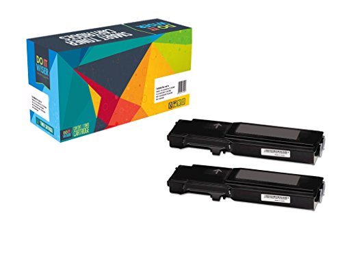 Do it Wiser Compatible High Yield Black Toner Cartridges For Xerox Phaser 6600 6600N 6600DN WorkCentre 6605N 6605DN - 106R02228 - Extra High Yield 8,000 Pages (Twin Pack)
