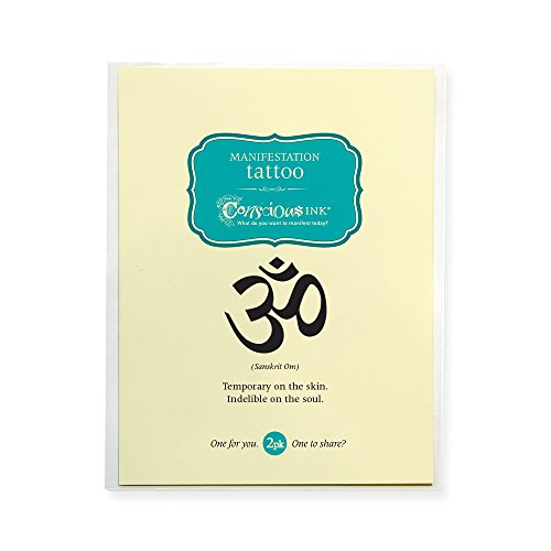CONSCIOUS INK MANIFESTATION TATTOO 2-PACK