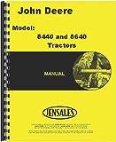 John Deere 8640 Tractor Operator Manual (JD-O-OMR67870)
