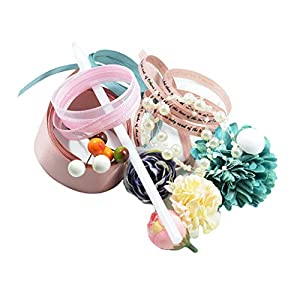 Fenteer A Handful of Artificial Silk Flower Bouquet Wedding Party Floral DIY Décor 3