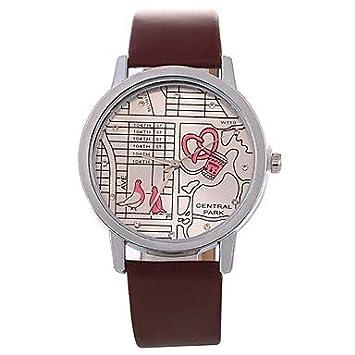 XKC-watches Relojes de Mujer, Vestido de Mujer Reloj Cronógrafo Chino/Banda de
