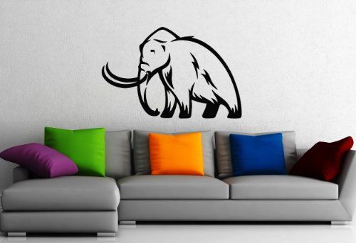 Wall Stickers Vinyl Decal Mammoth Extinct Animal Nature Animals Archaeology ig136