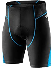INBIKE Cycling Shorts 3D Silicon Gel Padded Bike Underwear Shorts Breathable Lightweight for Men