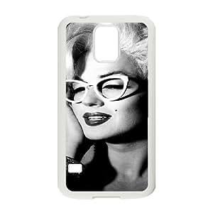 YUAHS(TM) Phone Case for SamSung Galaxy S5 I9600 with Marilyn Monroe YAS115458