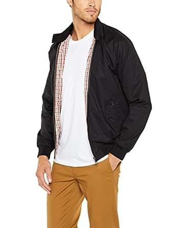 Ben Sherman Men's The Heritage Harrington Jacket, True Black, Small