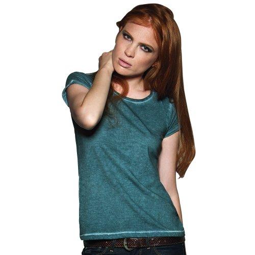 B&C Denim Womens Denim Plug In T Shirt Rusty Clash