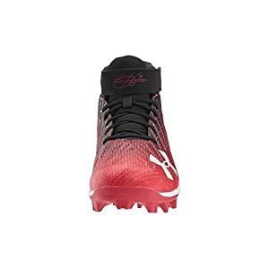 Under Armour Men's Harper 2 RM, Black (061)/Red, 9