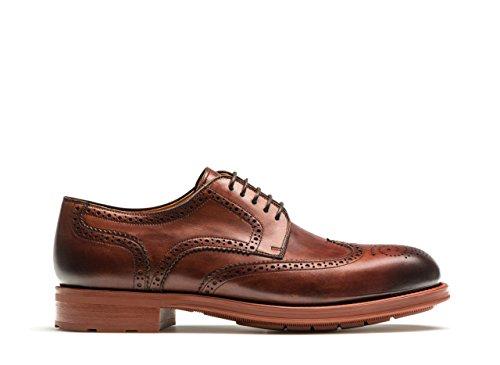 Magnanni Emiliano Midbrown Zapatos Con Cordones Para Hombre Midbrown