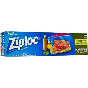 Amazon Com Ziploc Freezer Bags Pint Size 20 Ct 2 Pk