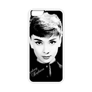 """Audrey Hepburn Pattern Customized Case for Iphone6 Plus 5.5"""", New Printed Audrey Hepburn Pattern Case"""