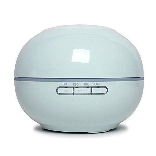 Onvian Aroma Diffuser Essential Oil Cool Mist Ultrasonic Humidifier Aromatherapy 200ml Diffuser with 7 Color LED Light