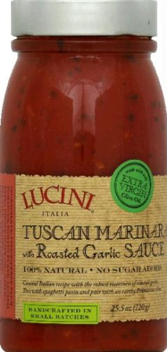 Lucini Roasted Garlic Marinara Sauce, 25.5 oz (Lucini Marinara)