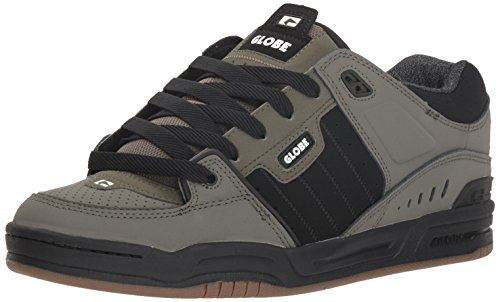 Skateschuh Herren Dusty Fusion Olive Black Synthetik Globe tB56wc