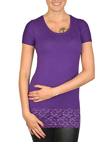Mellice - Camiseta sin mangas - Básico - para mujer morado