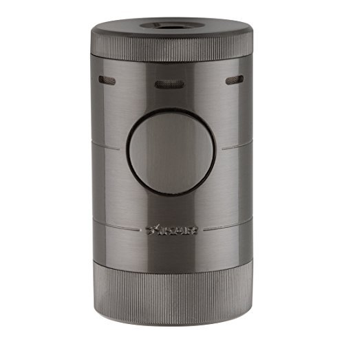 - Xikar Volta Quad Flame Table Top Lighter - Gunmetal