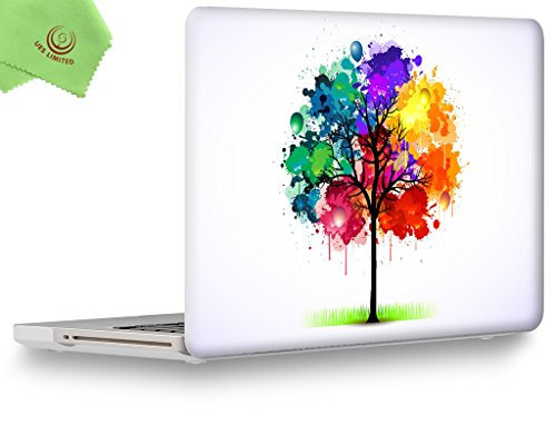 UESWILL Creative Design Smooth Soft-Touch Hard Shell Case Cover for MacBook Pro 15