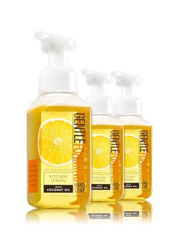 Bath & Body Works Gentle Foaming Hand Soap Kitchen Lemon - Soaps Bath 3