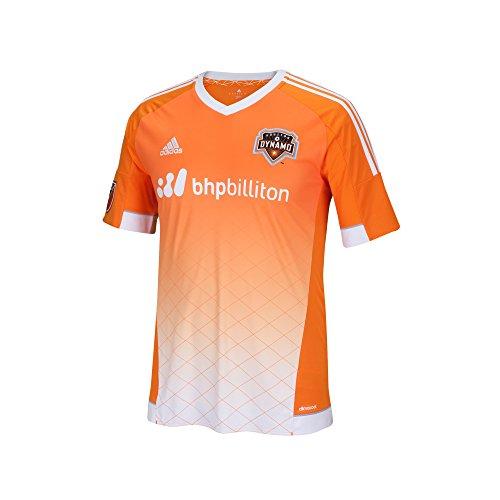 MLS Houston Dynamo Boys Youth Replica S/S Jersey, Medium, Orange
